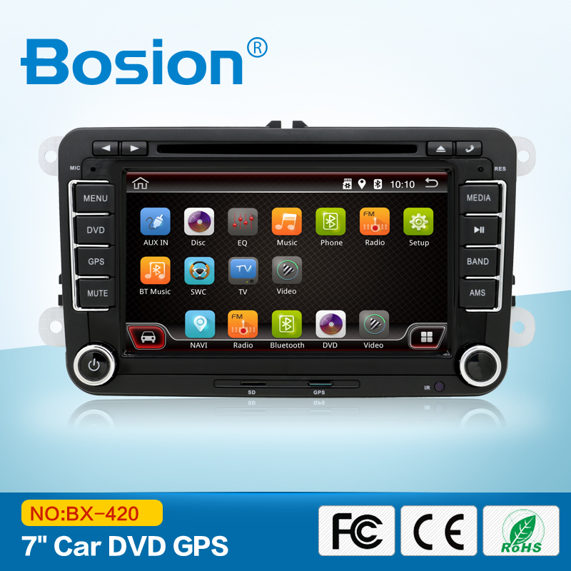 Quad core CPU 2 din Android 4.4 Car DVD GPS Radio stereo For VW PASSAT B6 golf 5 6 MK5 MK6 passat jetta caddy t5 polo tiguan(China (Mainland))