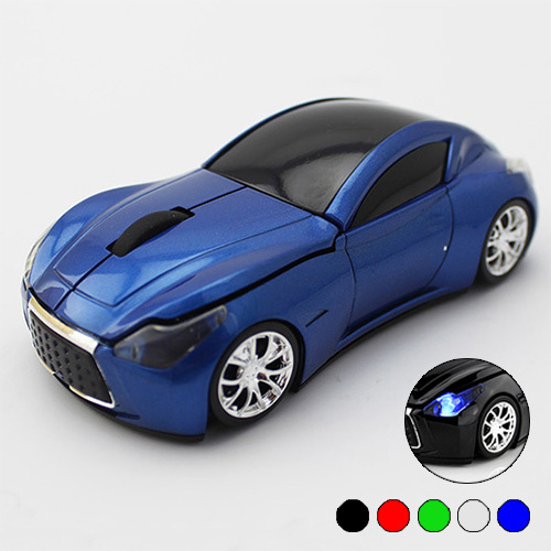 Retail wireless mouse fashion super car mouse sem fio wireless 2.4Ghz optical mouse for pc laptop computer Free Shipping(China (Mainland))