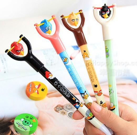Гаджет  bird birds - Ballpoint pen cute funny kawaii pens Novelty canetas rollerball pen school supplies Office accessories -N18  None Офисные и Школьные принадлежности