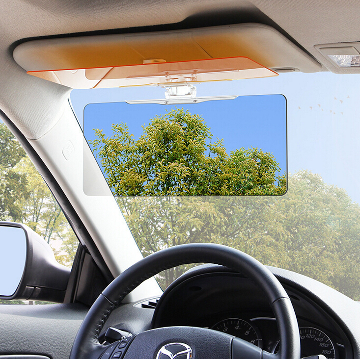 car driving anti reflection mirror day and night vehicle car sun shade visor solar protection. Black Bedroom Furniture Sets. Home Design Ideas