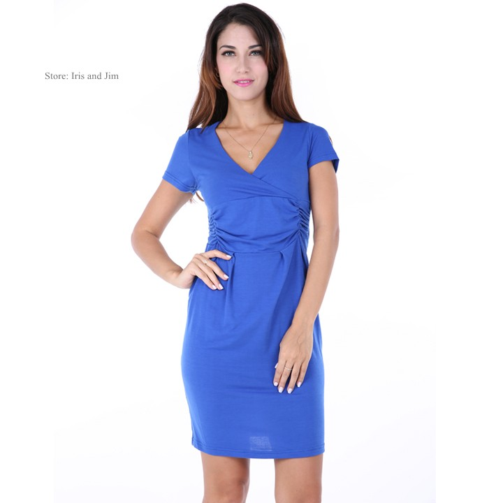 2015 new arrivel summer maternity clothing dress fashion elegant pregnancy short sleeve clothes for pregnant woman 12(China (Mainland))