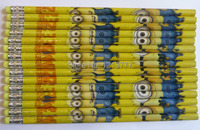 новые презренный мне детей канцелярских карандаш с Ластик детей деревянные карандаши девочку подарки 10 pack/120 шт