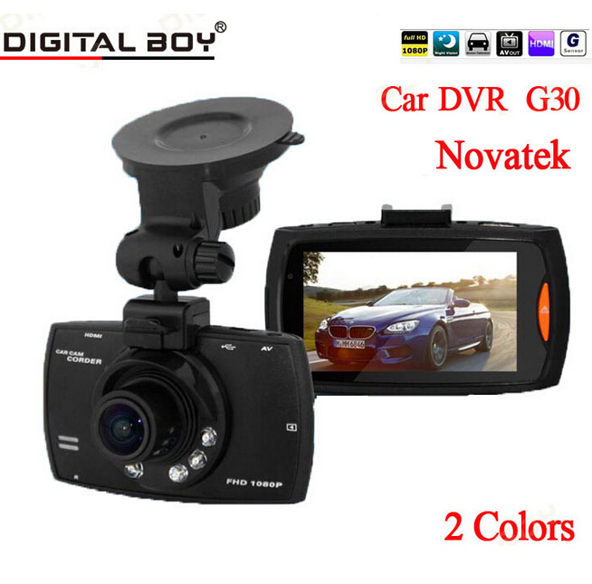 "Brand New 2.7"" Car Dvr 170 Wide Angle 1080P Car Camera recorder G30 With Motion Detection Night Vision G-Sensor car dvrs()"