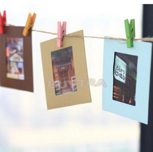 10 Pcs/lot Photo Hanging Paper Frame Album Display Picture Frame(China (Mainland))