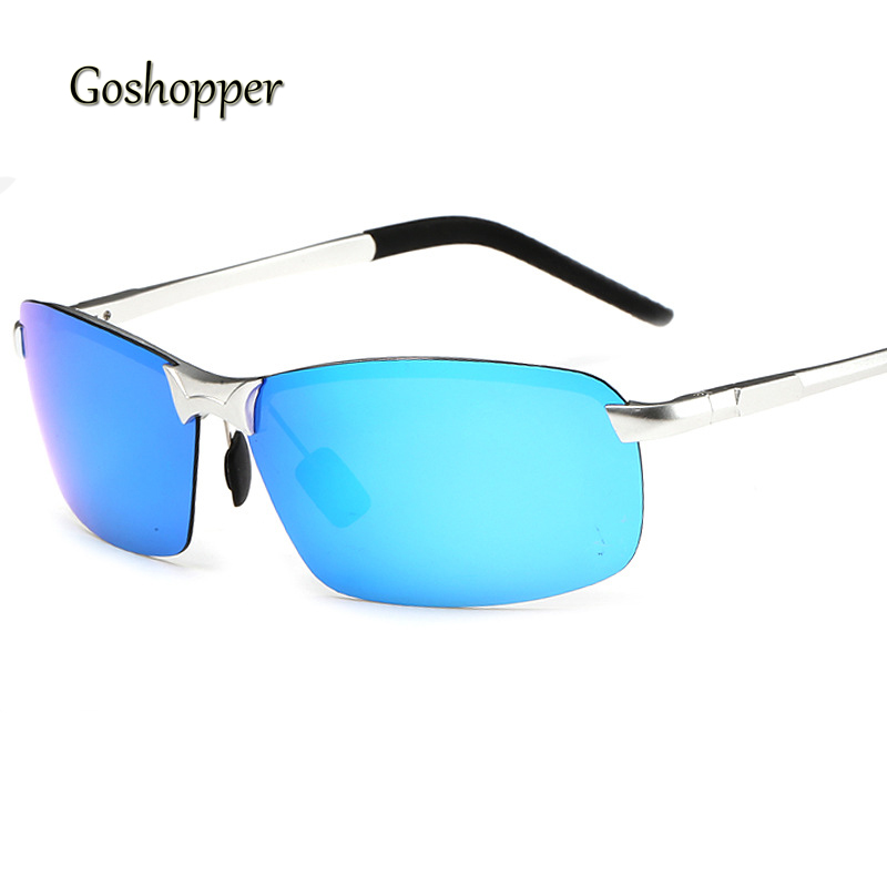 Frameless Vintage Glasses : Top Quality Metal Sport Polarized Sunglasses Outdoor ...