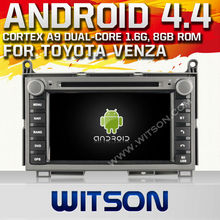 WITSON Android 4.4 TOYOTA VENZA CAR DVD PLAYER Capacitive touch screen Cortex A9 dual-core
