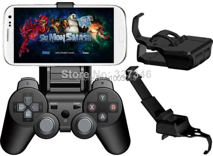 Controller Smart Clip Gamepad Bracket Holder Gameklip for PS3 Wireless Bluetooth Controller For IOS /Android Phone Tablet PC(China (Mainland))