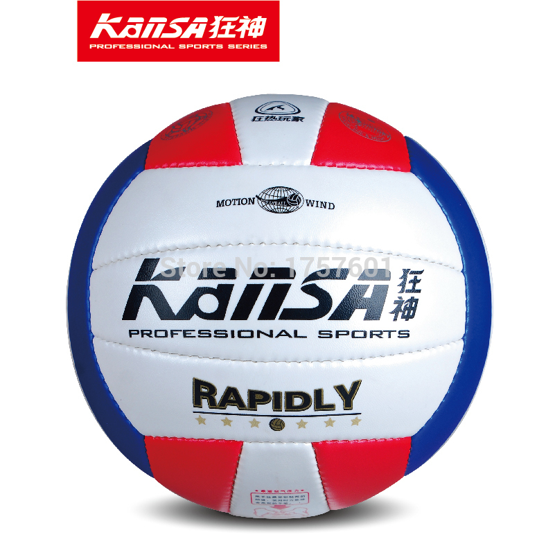 2015 Hot sale size 5 soft leather volleyball official match volleyballs indoor/outdoor training competition volleyball balls(China (Mainland))