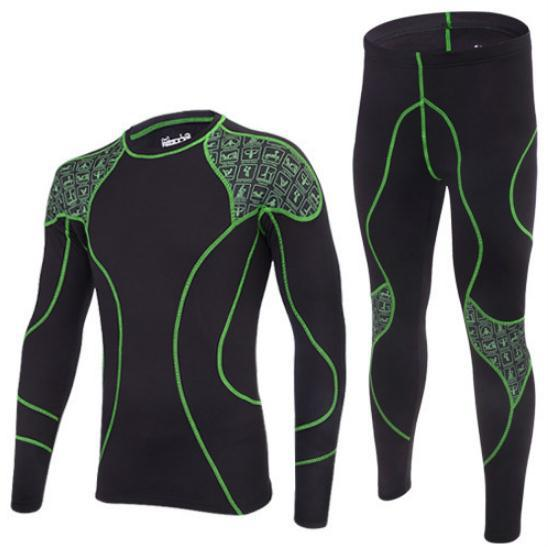 brand thermal underwear men sets compression sport fleece sweat quick drying thermo clothing Men's outdoor suits - Excellence technology Co.,Ltd store