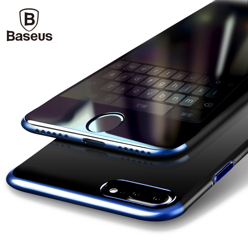 Baseus PC Hard Case For iPhone 7 Cover For iPhone 7 Plus Case Anti-scratch Electroplating Protective Phone Bag Shell New Arrival