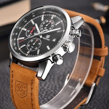 Buy Reloj Hombre 2016 BENYAR Fashion Chronograph Sport Mens Watches Top Brand Luxury Military Quartz Watch Clock Relogio Masculino for $19.28 in AliExpress store