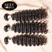 US Domestic Delivery 3pcs Lot Malaysian Virgin Hair Deep Wave Malaysian Curly Hair Free Shipping Sexy