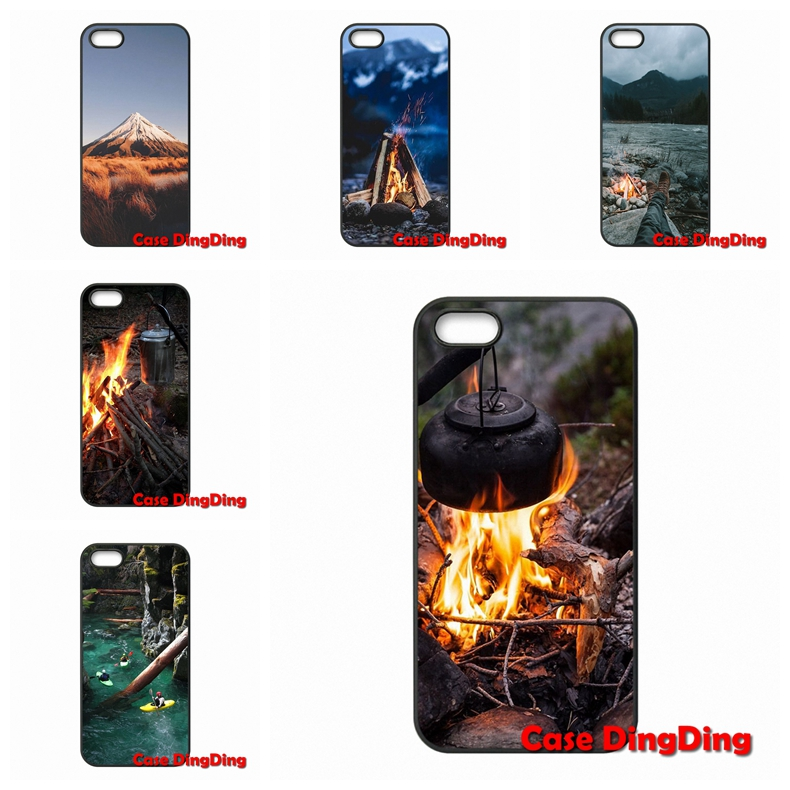 For Moto X1 X2 G1 E1 Razr D1 Razr D3 Apple iPod Touch 4 5 6 iPhone 4 4S 5 5C SE 6 6S Plus Wilderness Camp Case Capa Cover(China (Mainland))