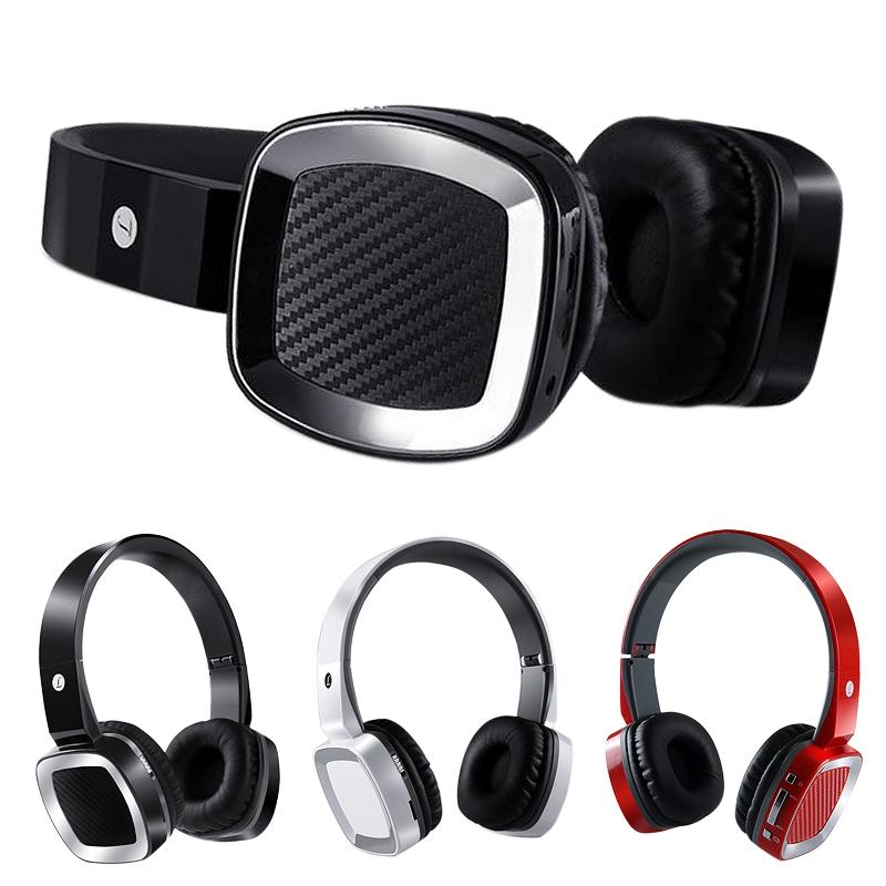 Low price selling 3 Color Foldable Wireless Bluetooth HiFi Stereo Headset Headband Headphones w/Mic(China (Mainland))