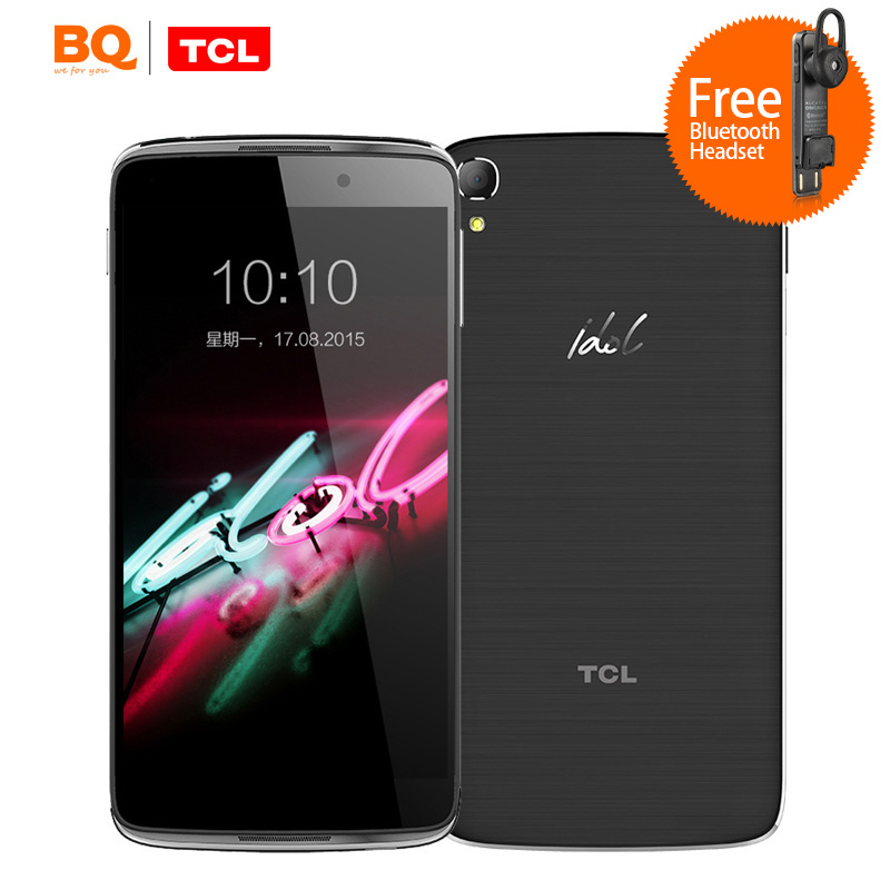 Original TCL idol3 i806 4G LTE Mobile Phones 5.5 inch Android 5.0 Snapdragon 615 MSM8939 Octa Core 2GB/16GB NFC ALCATEL Phone(China (Mainland))