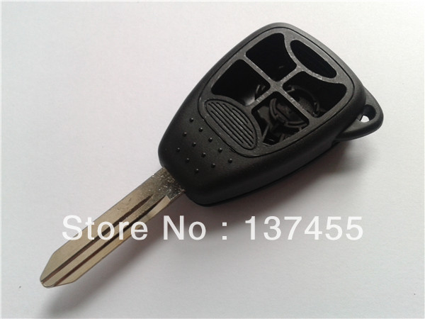car key chrysler 5 button remote key cover for fob selling(China (Mainland))