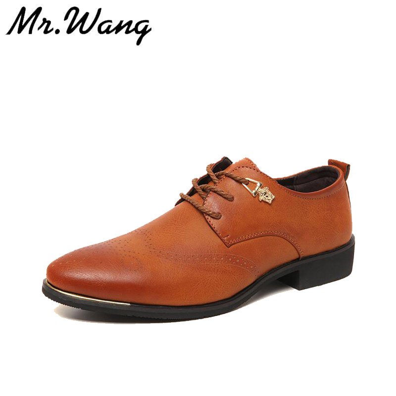 2015 brand new Fashion men's oxford shoes casual mens Genuine leather shoes mens dress shoes leather business shoes for men J216