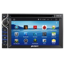 Car DVD GPS 6.2″Android 4.4 2DIN Universal DVD Player  Quad Core 1024X600 HD Capacitive Screen Support 3G Radio Stereo Bluetooth