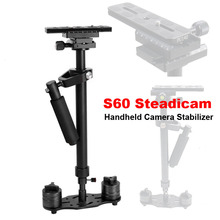 Buy Professional S60 60cm Video Stabilizer Handheld DSLR Camera Steadicam Steady Camera Video DV DSLR Nikon Canon Sony Panasonic for $63.70 in AliExpress store