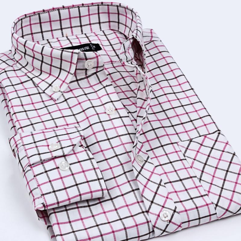 Men Casual Shirts 2015 New Fashion Brand Autumn Oxford Cool Formal Male Shirts M- 5XL Social Dress Shirt Clothes(China (Mainland))