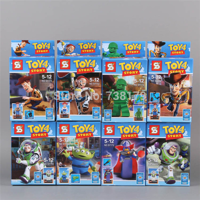 Color-Box-Packing-4-5cm-8pcs-set-Toy-Story-4-Minifigures-SY172-Toy ...