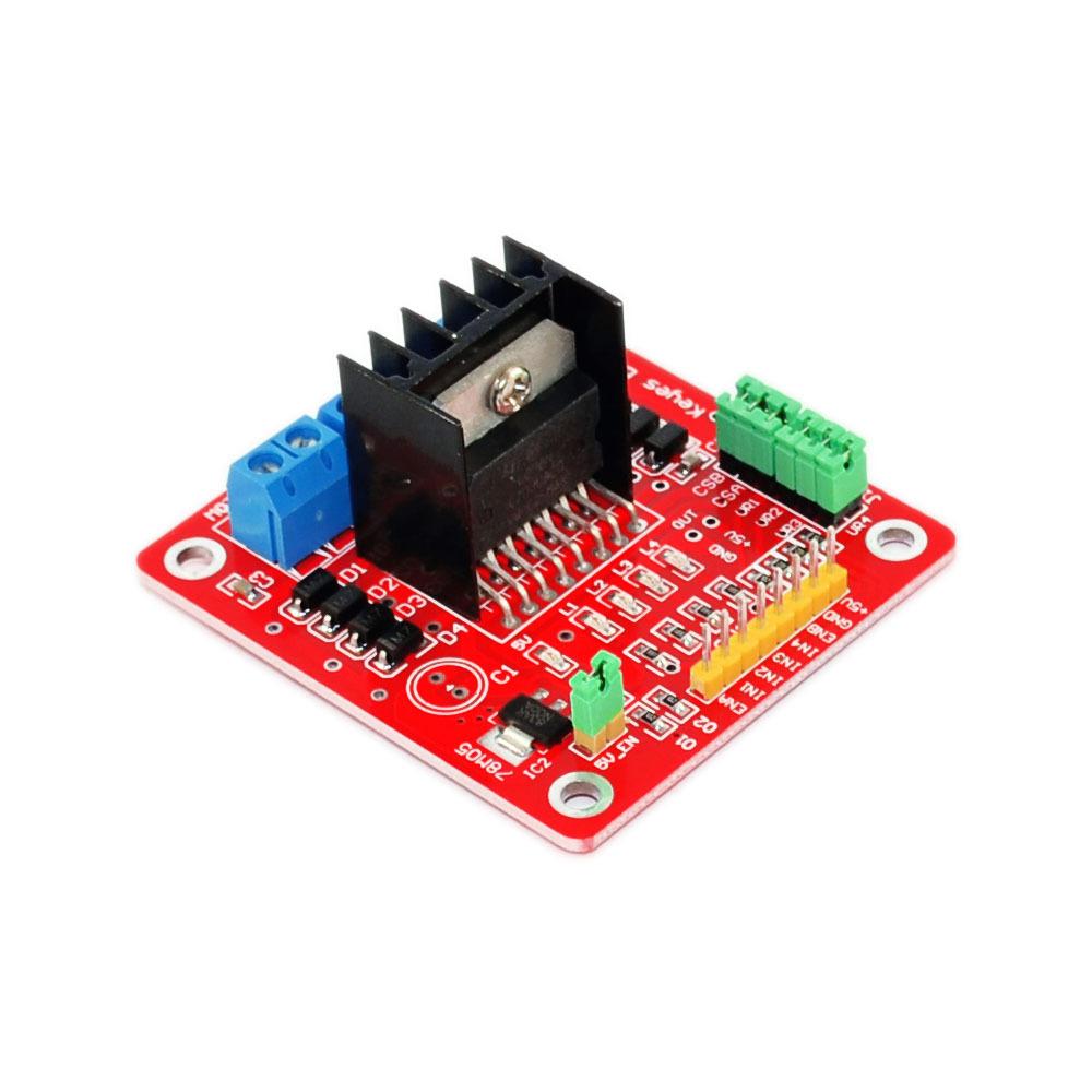 Tutorial - L298N Dual Motor Controller Module 2A and Arduino