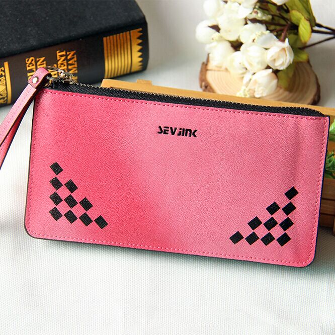 Mens Long wallet Card Pack Genuine Leather Plaid wallets Europe male purse Clutch bag Top quality Card Holder Money Bag Cheap<br><br>Aliexpress
