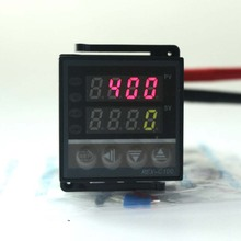 1pcs Dual Digital PID Temperature Controller with thermocouple K probe Relay Output thermostat