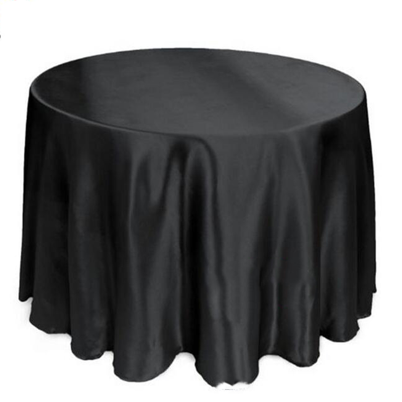 20pcs 120 round 100 satin table cover wedding tablecloth for 120 round table cover