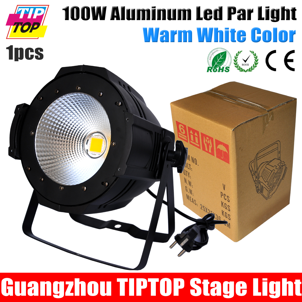China Stage Lighting Supplier 100W Warm White/Yellow Color Aluminum Indoor Led Par Light COB Lamp Source Strobe Effect Projector<br><br>Aliexpress