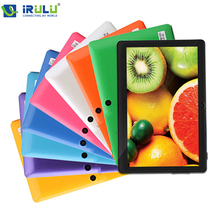 "iRULU eXpro X1 7"" Tablet PC 8GB Android4.4 Google GMS Tested Quad Core 1024*600 Dual Camera Support WIFI 2016 Hottest W/Earphone(China (Mainland))"