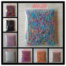 Acerca de 1000 unids/bolsa ( pequeño paquete ) 2015 nuevo niño del bebé TPU titulares de pelo de bandas de goma elástico de la muchacha de goma(China (Mainland))