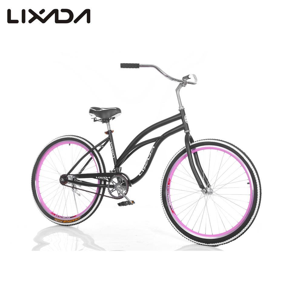 "Lixada 26"" Speed Wide Tire Sport Bicycle, Fat Mountain Bike, Snow Bike Beach Bike, MTB Beach Cruiser Bike, Carbon Steel Frame(China (Mainland))"
