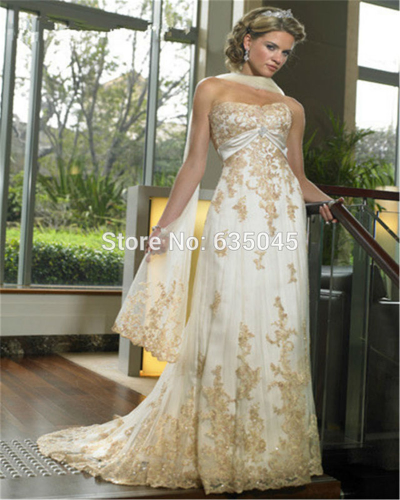 gold bridesmaid dress lace