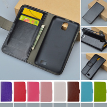 Case For Lenovo A328 A328T New Leather Flip Cover With Card Holder