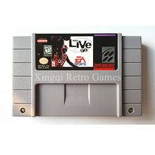 Buy Super Nintendo SFC/SNES Game NBA Live '98 Video Game Cartridge Console Card NTSC US English Version for $18.00 in AliExpress store