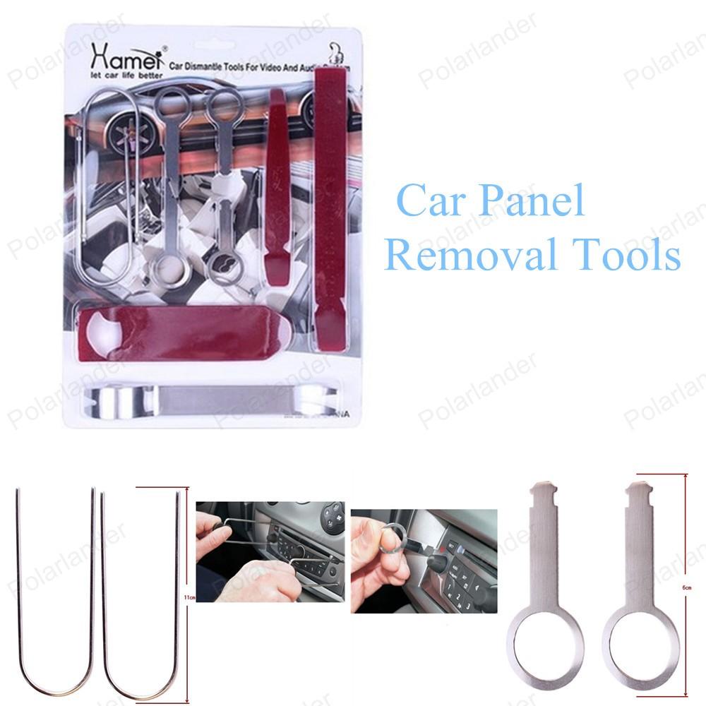 2016 новый 9 шт./компл. автомобилей панель удаления инструмента-автомобилей ремонт комплект инструментов комплект инструментов