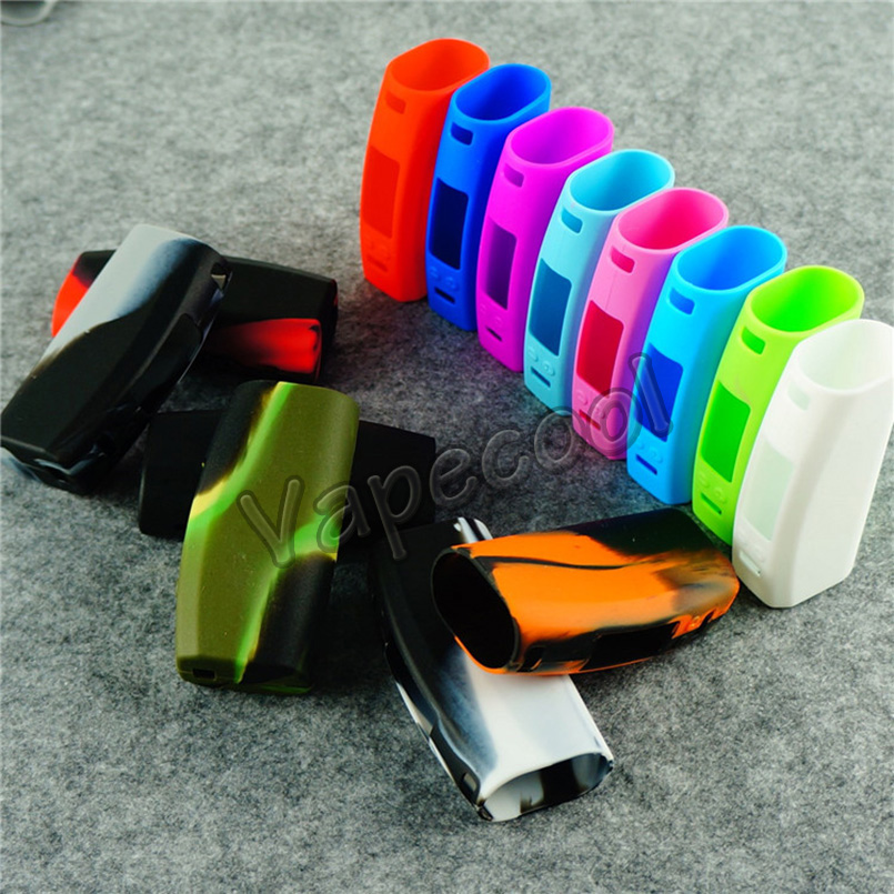 Vapor Wismec Presa 75 W box mod rubber silicone case/cover/sleeve/skin/sticker for presa 75w TC box mod(China (Mainland))