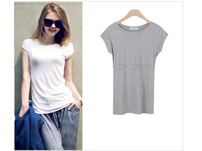 2015 korean version of the round neck slim was thin large for Large shirt neck size