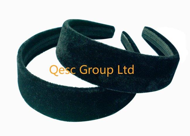 FREE SHIPPING.3.8cm VELVET headband ,20pcs/lot,use for FASCINATORS or hair ornament(China (Mainland))