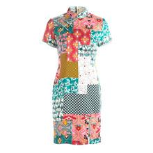 2019 летнее женское модное платье в молодежном стиле(China)