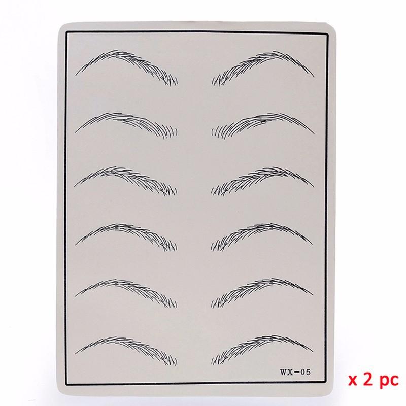302 eyebrow practice skin
