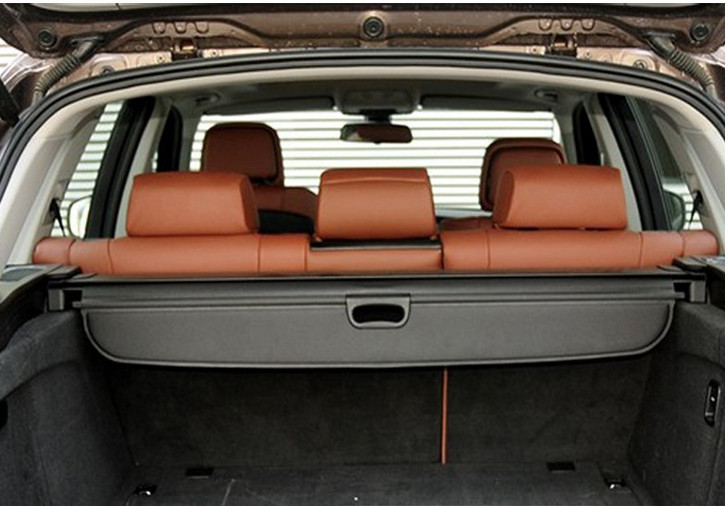 Black Retractable rear cargo cover trunk shade security cover for BMW X5 2014(China (Mainland))