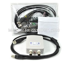 O007 Bandwidth 20M 2 Ch PC Computer Digital Oscilloscope Synchronized Display MDSO FREE SHIPPING