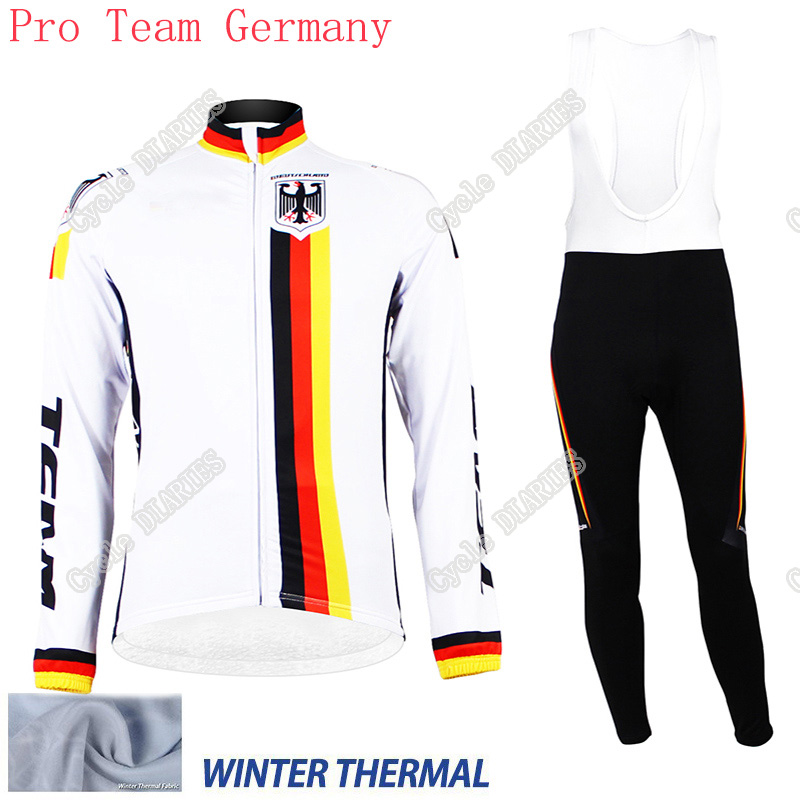 Winter Thermal Fleece Cycling Jerseys Ropa Ciclismo Invierno/Super Warm Blue Bicycle Cycling Clothing Long GEL Pad Cycling(China (Mainland))