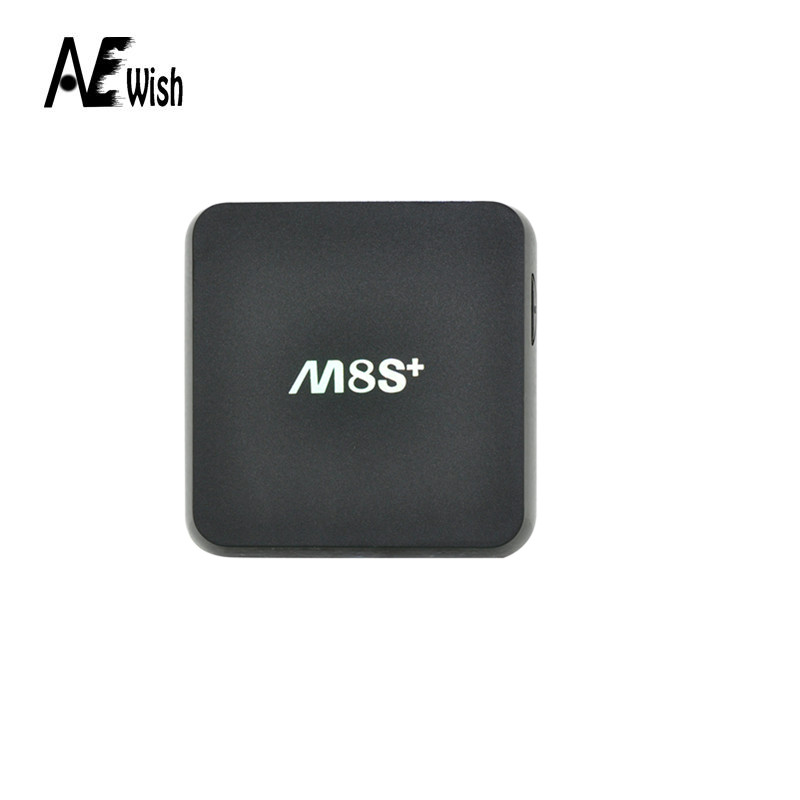 Anewish 2016 M8S Plus/M8s+ Amlogic S812 Quad Core Android TV Box XBMC 14.2 Android 5.1 2G/8G 2.4G/5G WiFi H.265 DLNA Miracast(China (Mainland))