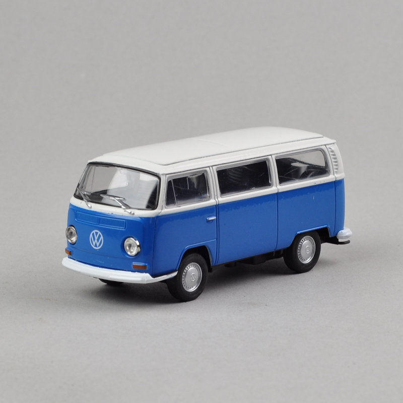 Wyly boxed 1972 bus volkswagen t2 blue alloy toys cars(China (Mainland))