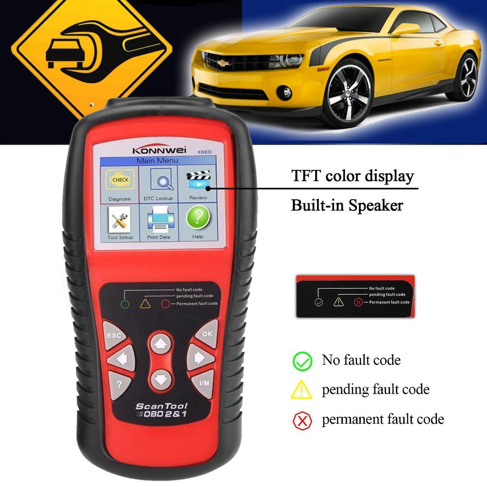 100% Original AUTEL KW830/AL519 OBD2 Scanner AutoLink Fault Code Reader Support All OBD2 CAN EOBD JOBD Escaner AUTEL Scanner Too(China (Mainland))