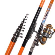 LEO 2.7-6.3M Super Hard Fishing Rod Telescopic Sea Fishing Pole Rock Rockies Carp Fishing Gear Tackle Fishing Accessories(China (Mainland))