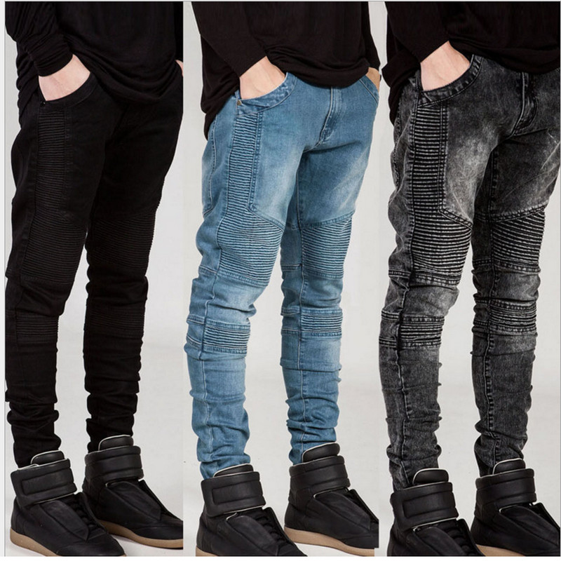 hohe qualit t denim biker jeans kaufen sie billigedenim biker jeans partien von hoher qualit t. Black Bedroom Furniture Sets. Home Design Ideas
